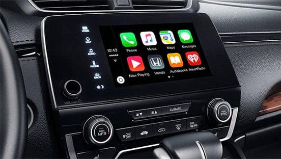 Apple CarPlay/Android Auto touch-screen