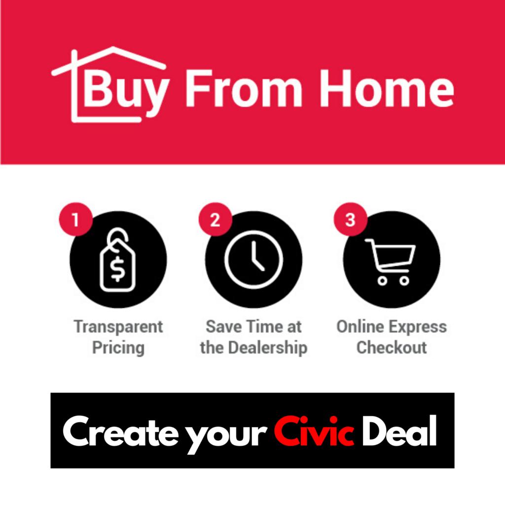 Shop and Buy a 2020 Honda Civic ONLINE from Okotoks Honda, South of Calgary