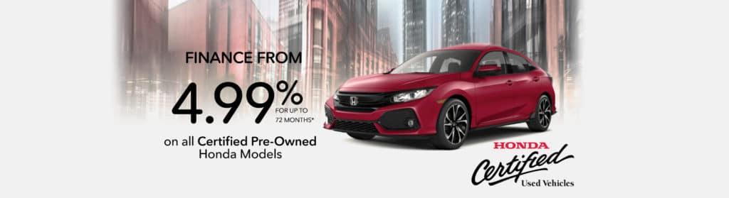 Honda Certified Used Vehicles from Okotoks Honda, South of Calgary