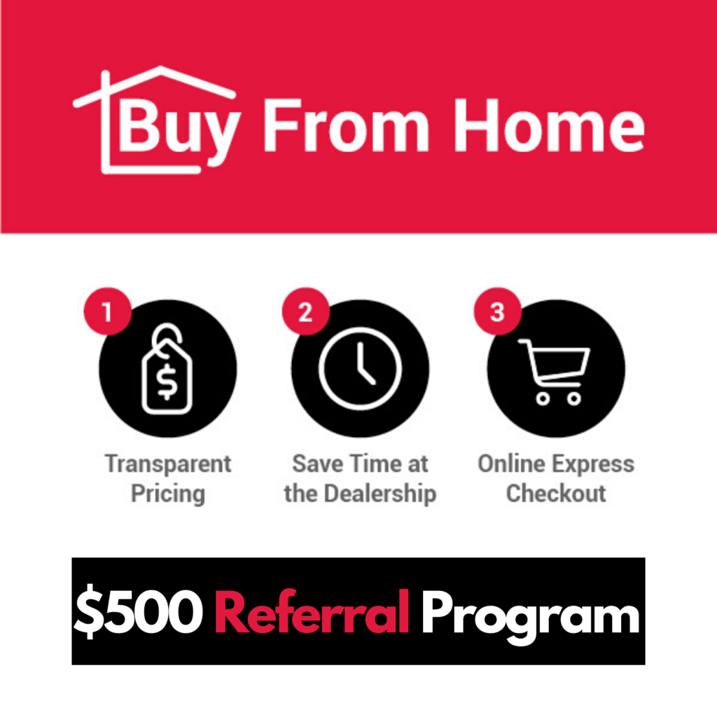Refer and Collect From Home on ALL Cars from Okotoks Honda, South of Calgary