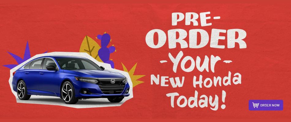Pre-Order Your 2022 Honda