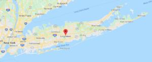 Long Island NY Map