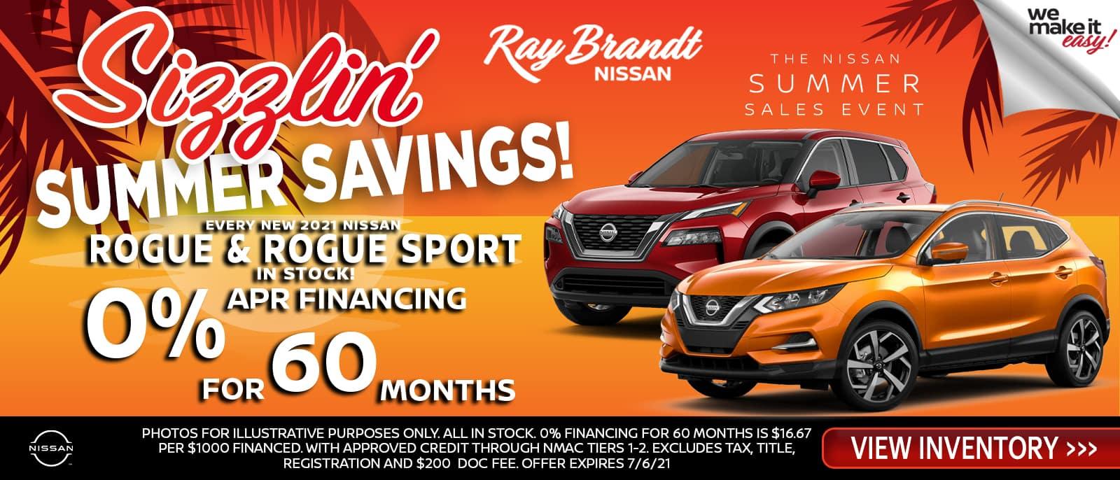Nissan Rogue, Rogue Sport, Midsize SUV, sale