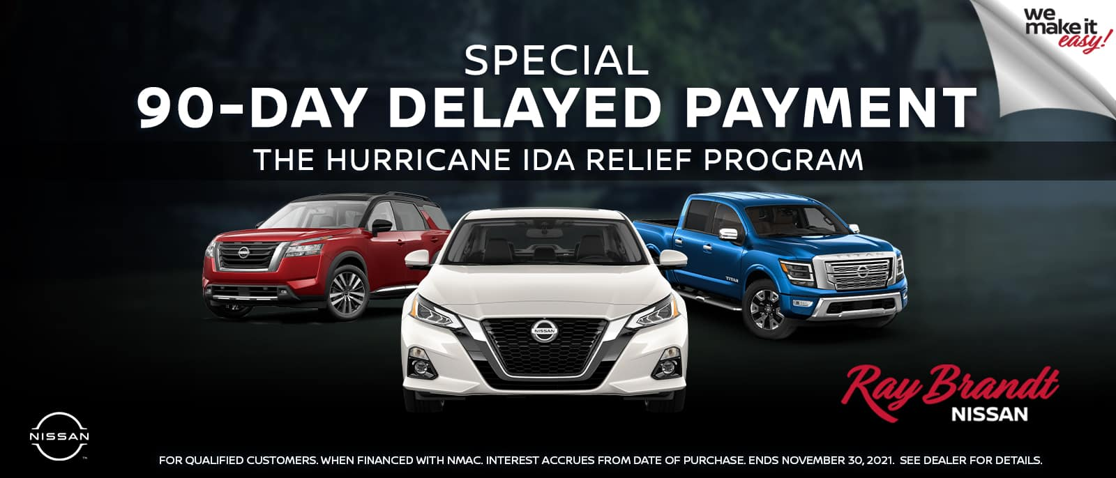 Nissan 90-Day Delayed Payment