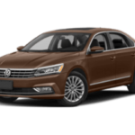 2019 VW Passat angled