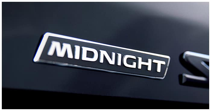 New Midnight Edition Trims Regal Nissan