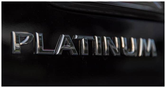 New Nissan Platinum Trims