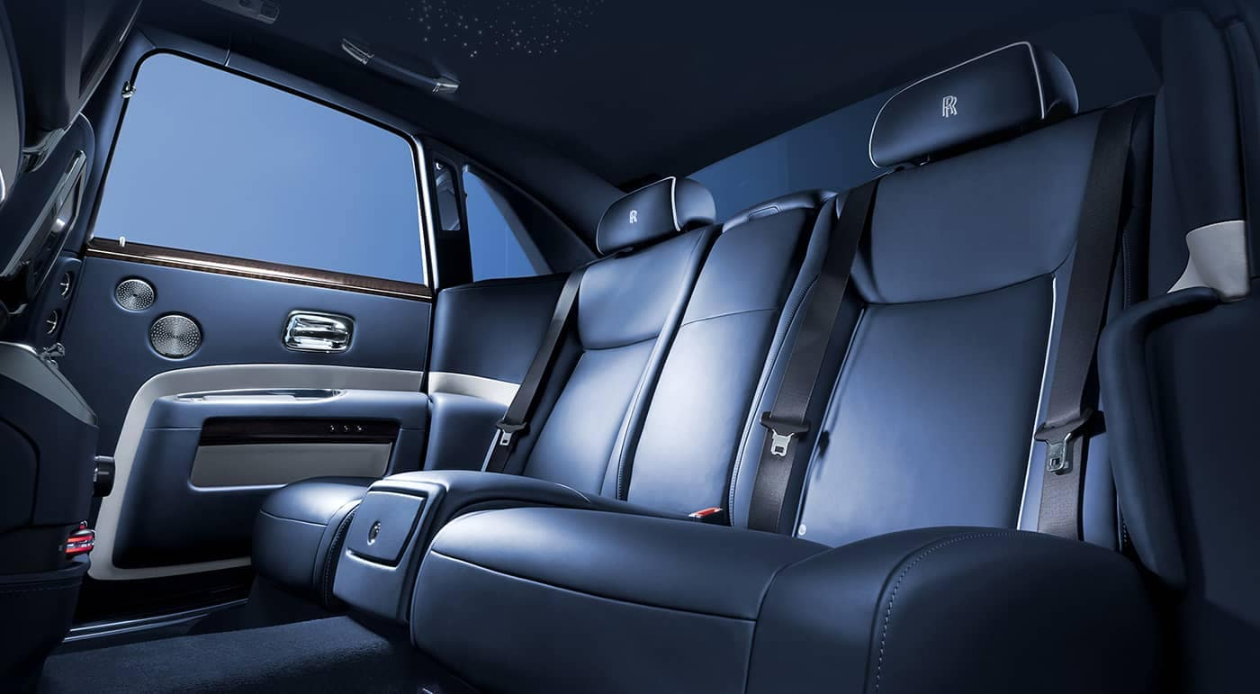 2019 Rolls-Royce Ghost Back Seat