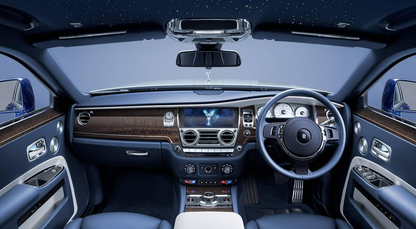 2019 Rolls-Royce Ghost Dashboard