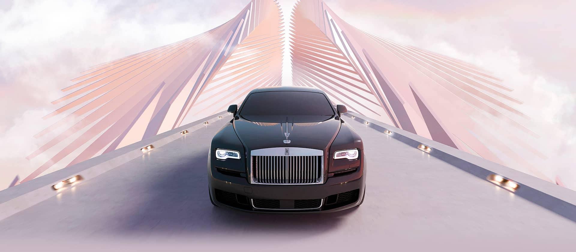 2020 Rolls Royce Ghost Grill