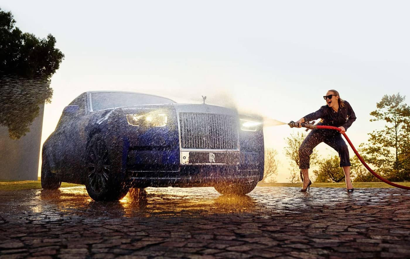 2020 Rolls Royce Phantom Carwash