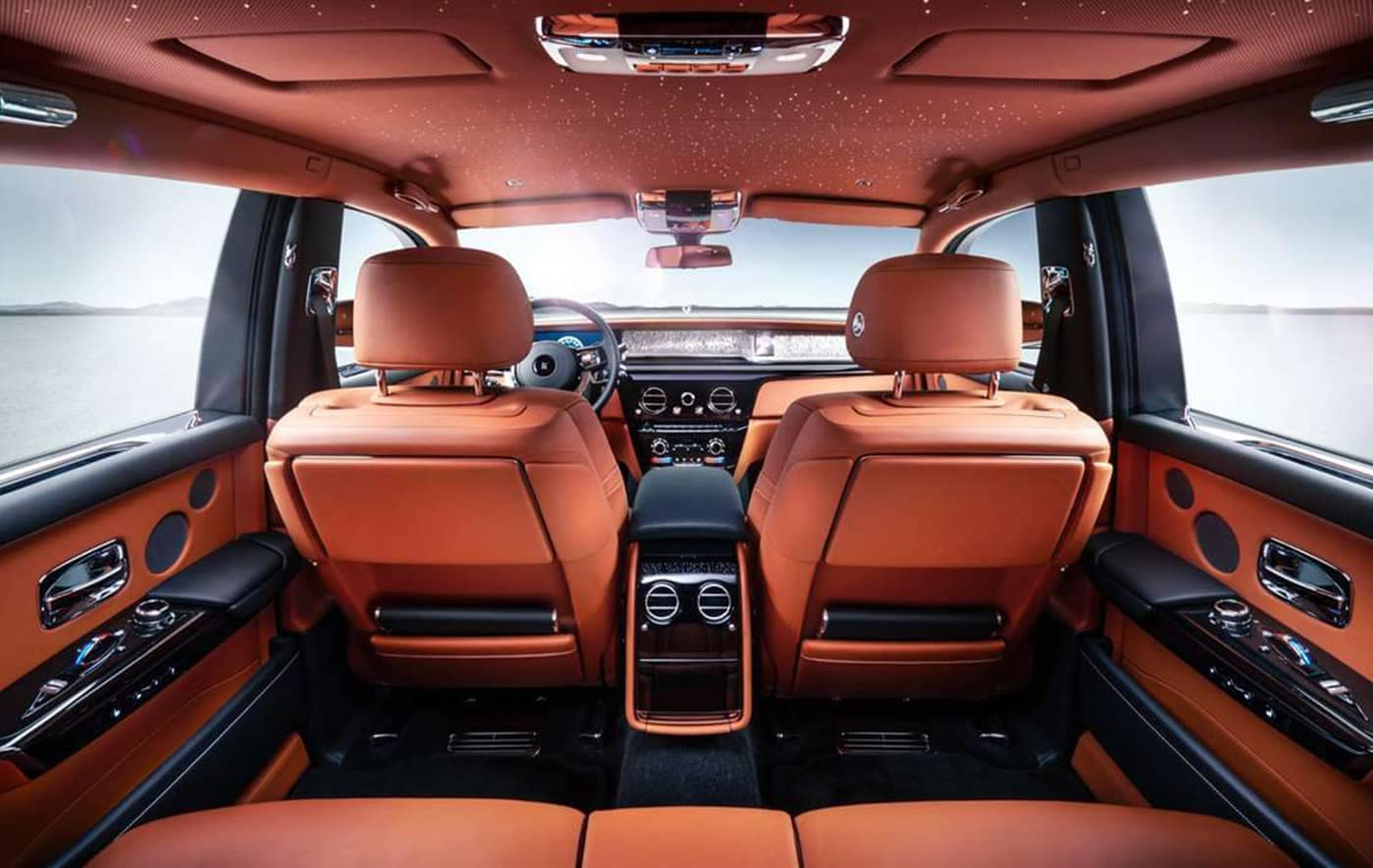 2020 Rolls Royce Phantom Interior