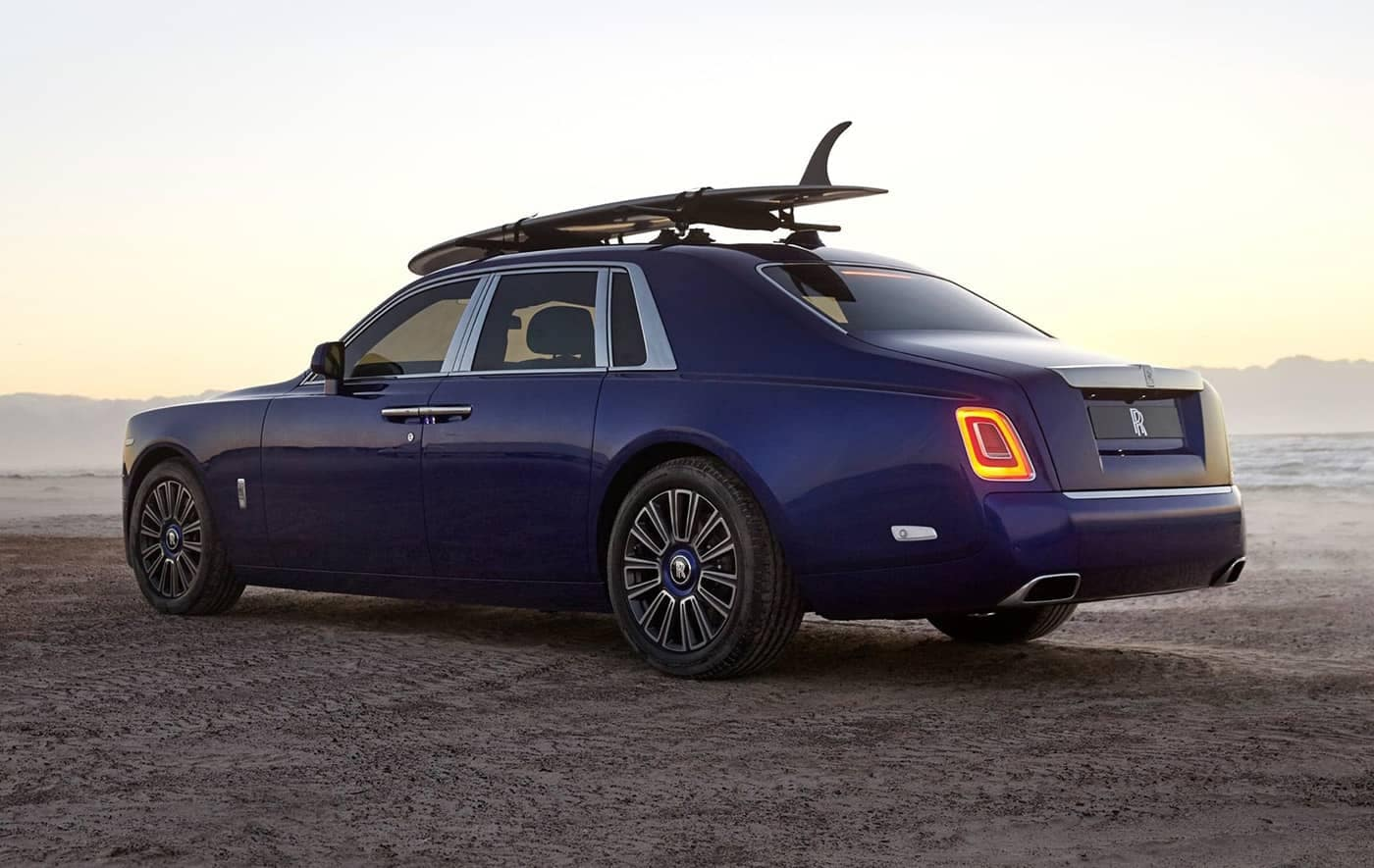 2020 Rolls Royce on The Beach