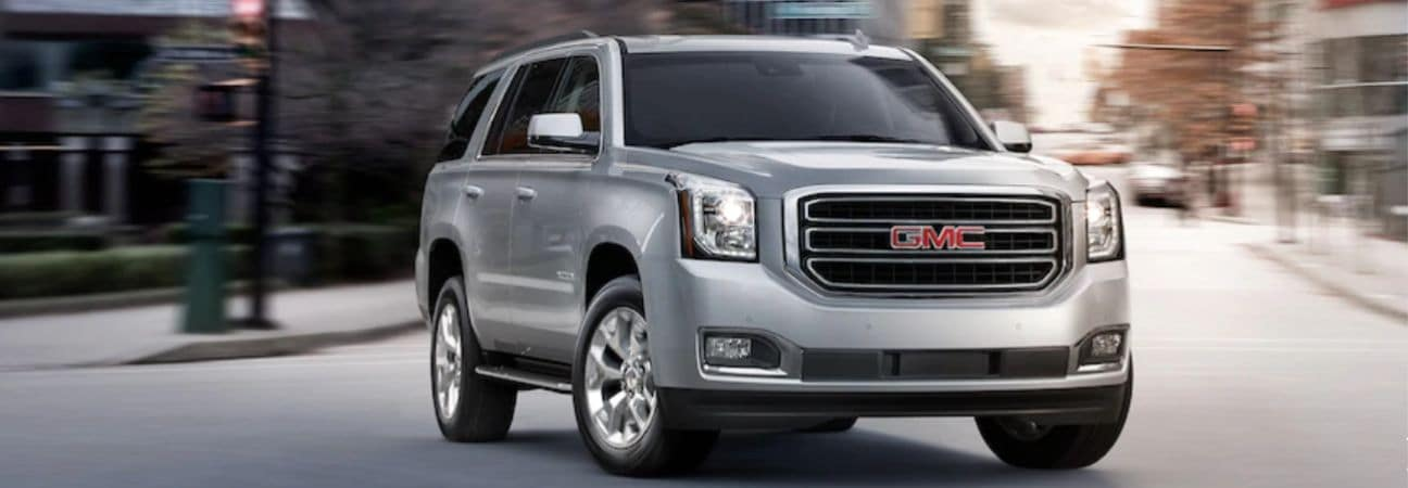 2019 GMC Yukon grey SUV