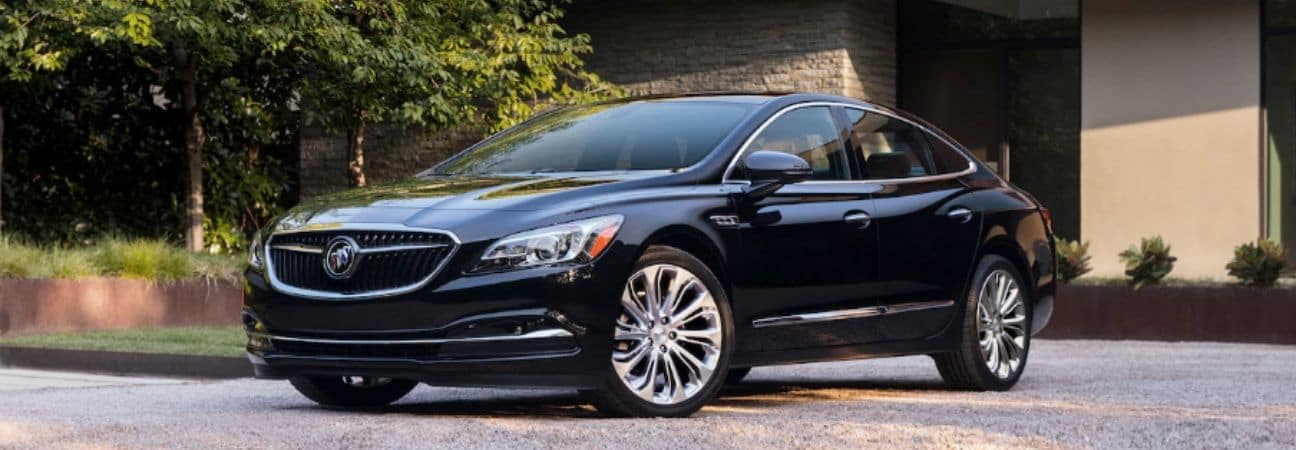 2019 Buick Lacrosse parked in the driveway of someones home
