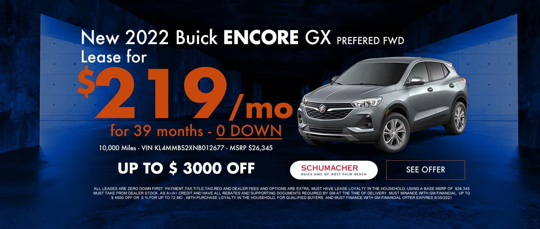Encore GX Lease Offer