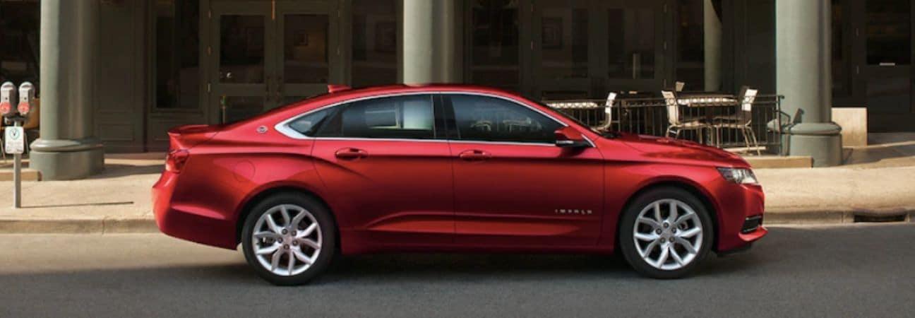 2019 Chevrolet Impala Red Sedan