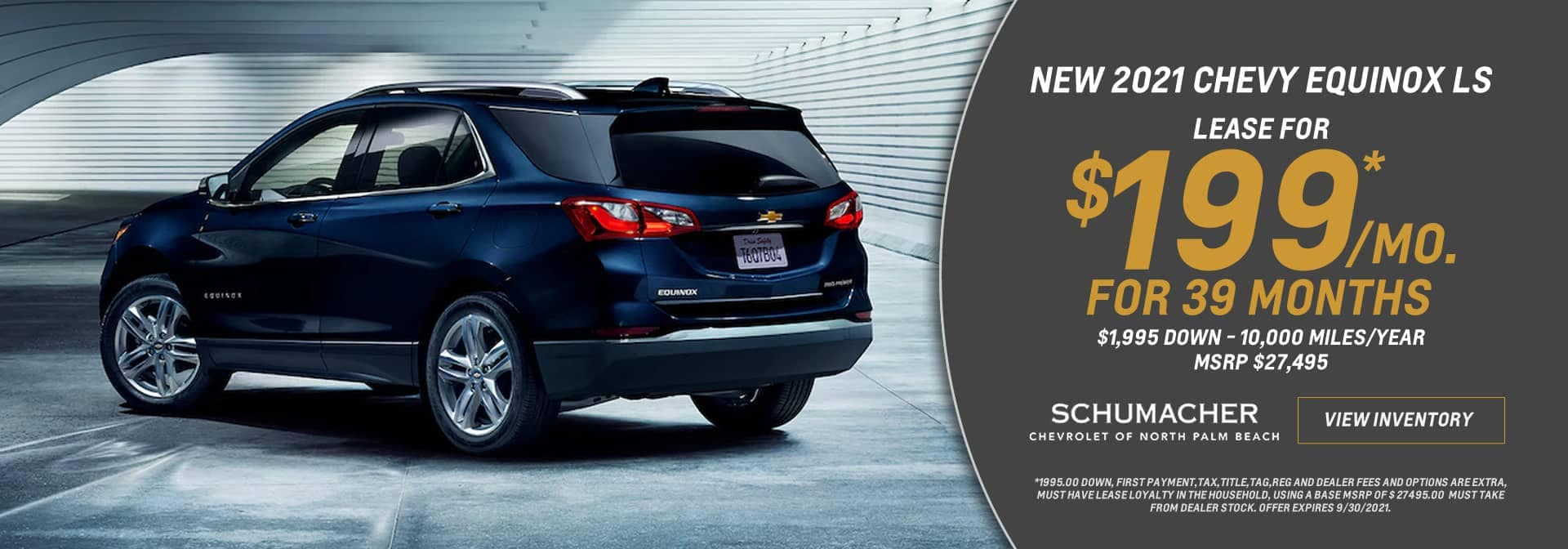 Chevrolet Equinox Lease Offer