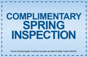 Spring Inspection