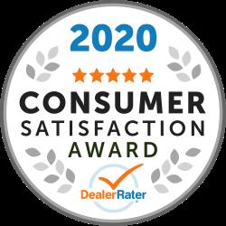 DealerRater Consumer Satisfaction Award