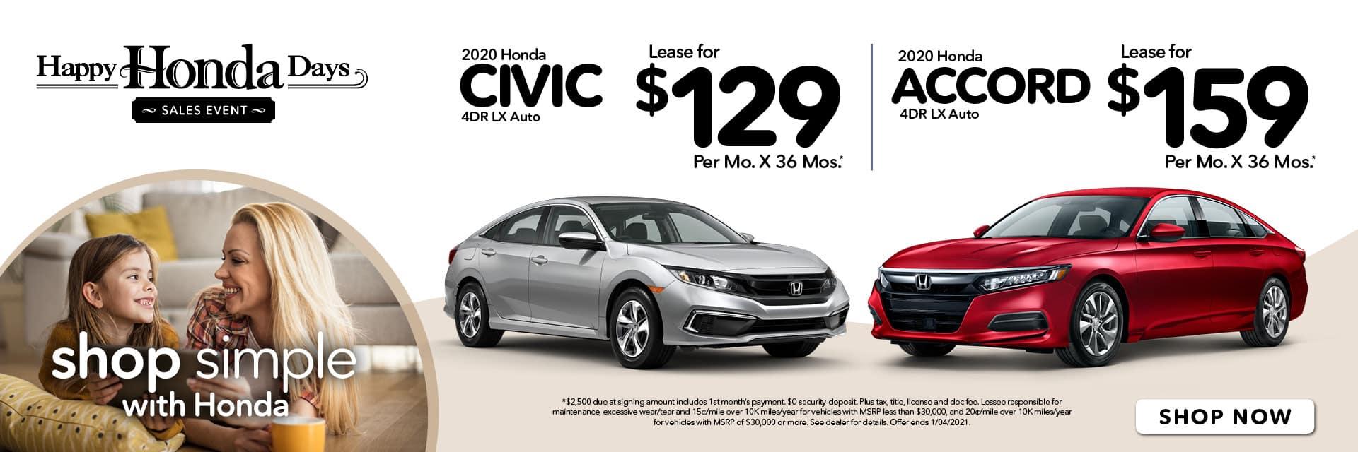 Happy Honda Days Civic & Accord