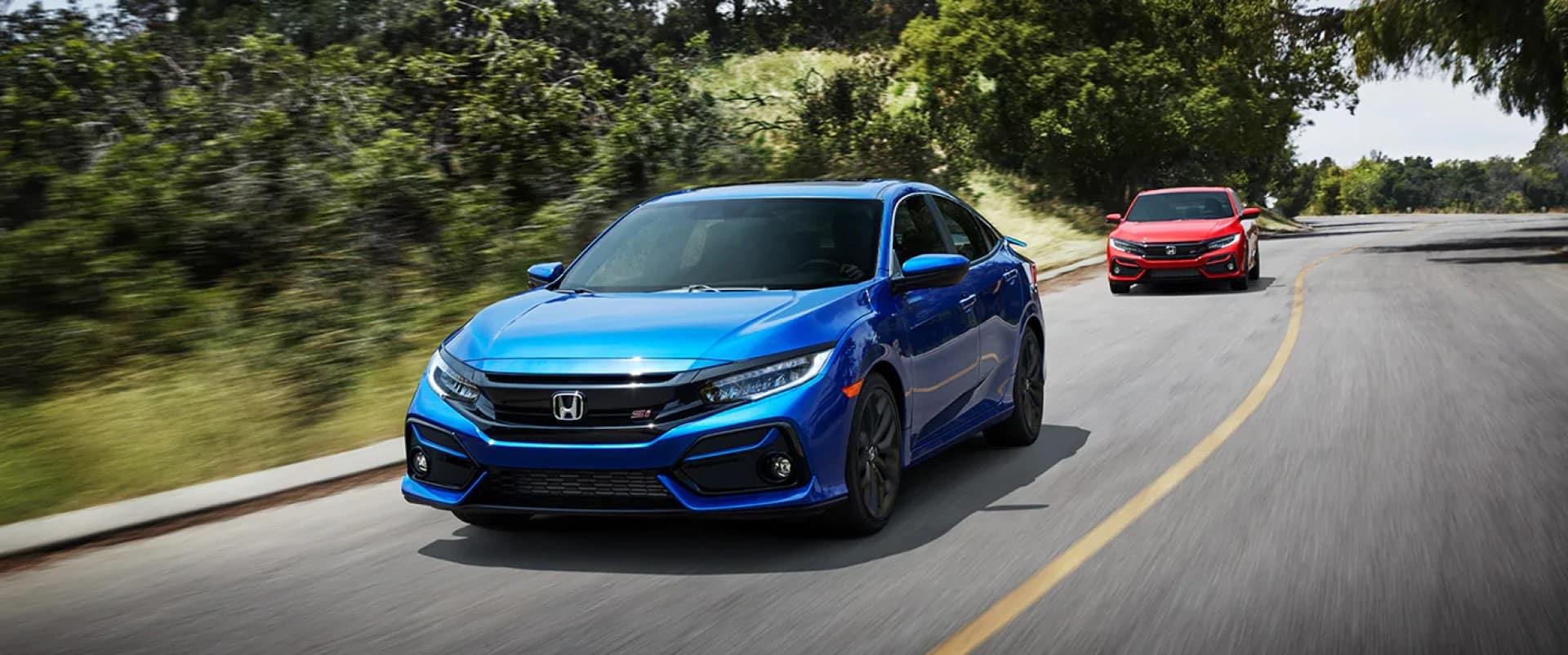 Honda_Civic_Si_Sedan_Driving_Back_Road