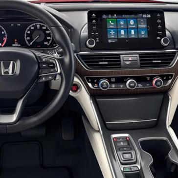 Accord Hybrid Interior Front