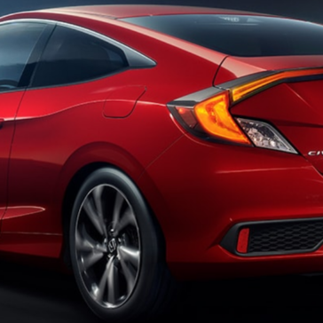 Civic Coupe Exterior Rear