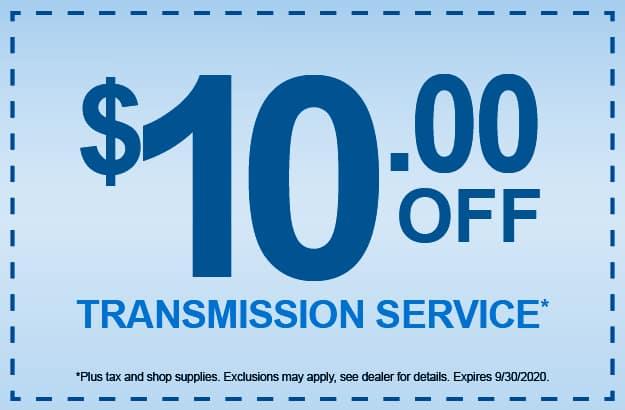 Transmission Service Coupon