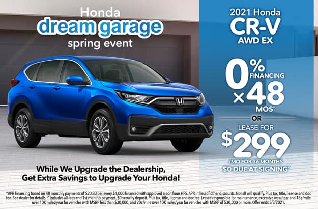 CR-V Lease Special