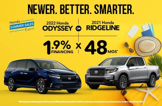 Odyssey & Ridgeline Special