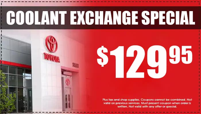 Coolant Exchange Special