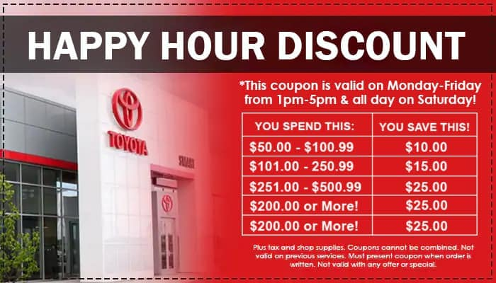 Happy Hour Discount