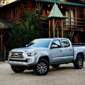 Toyota_Tacoma_Parked_Outside_Home