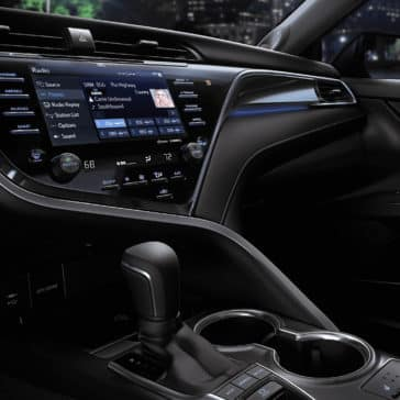 Camry Hybrid interior features