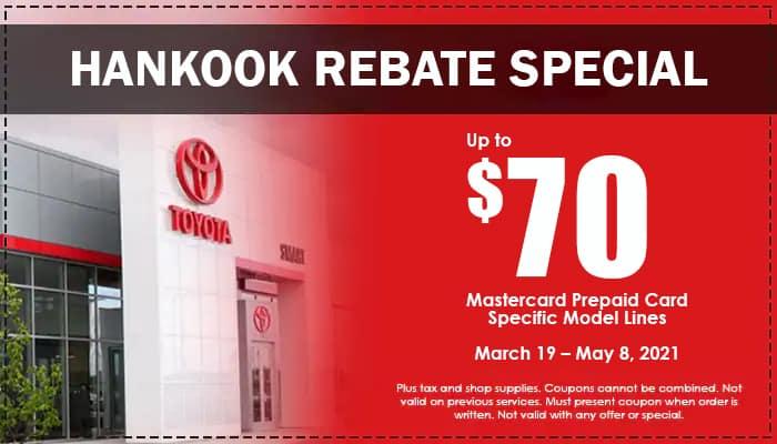 Hankook Rebate Special
