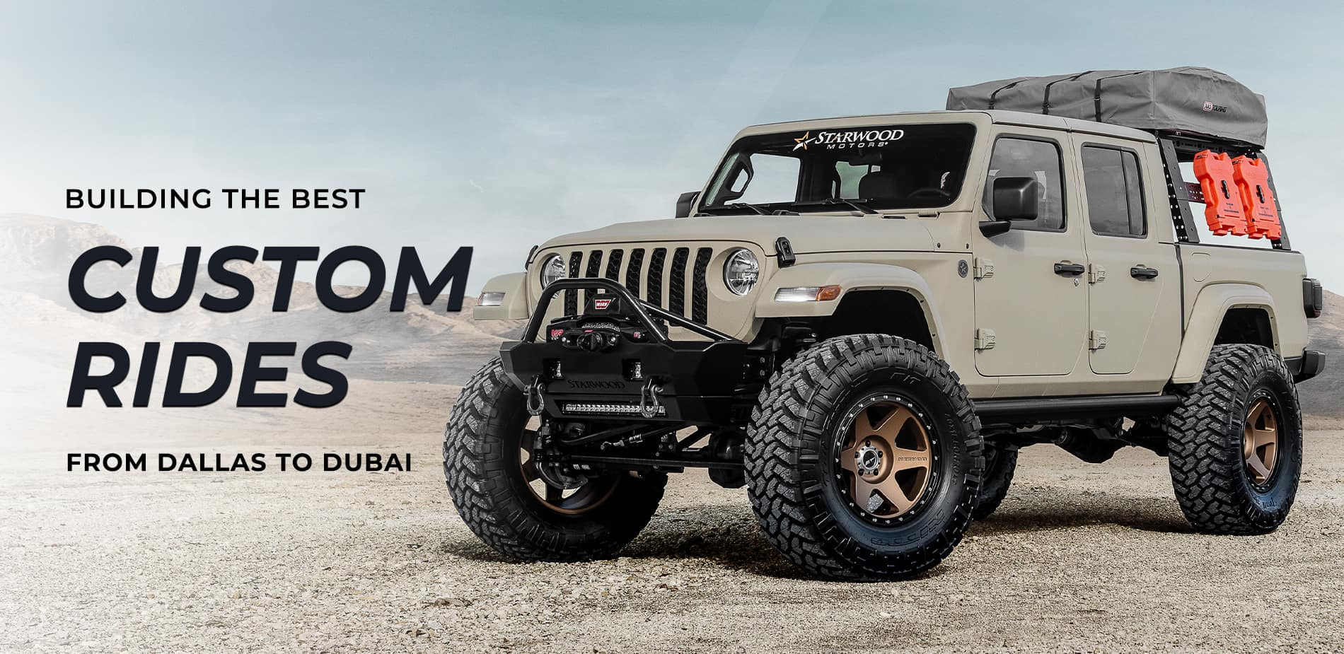 Starwood Motors Custom Jeep Dealer In Dallas Tx