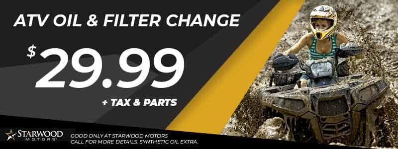 ATV Oil Change