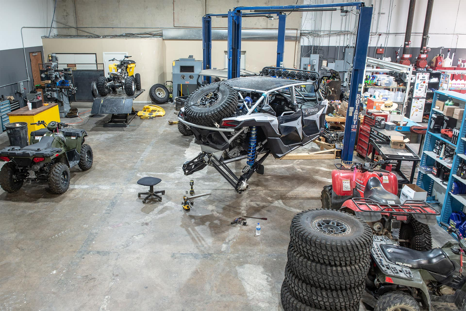 UTV Repair Service Department