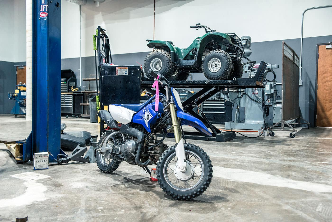 Dirt bike repair shop dallas