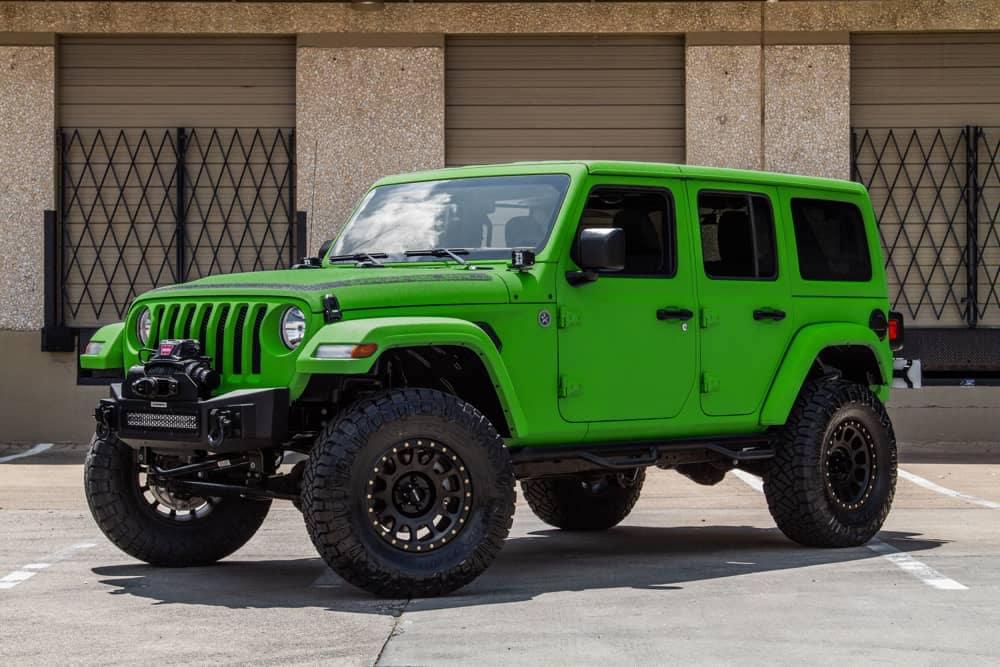 LAMBO ITHACA VERDE Jeep