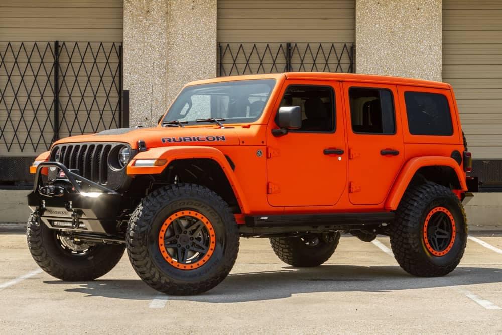 Punkn Orange Jeep