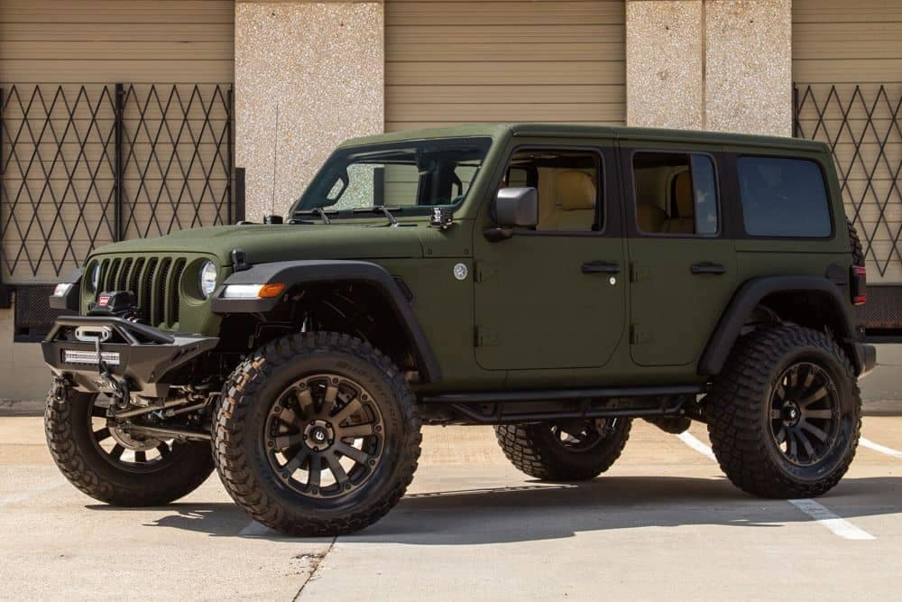 Sarge Green Jeep