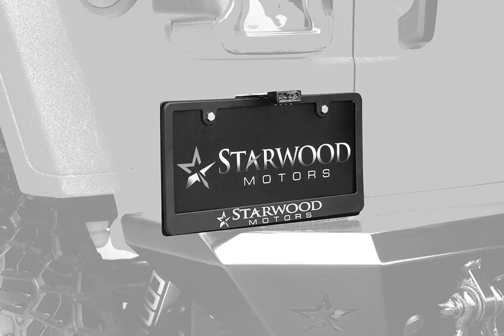 Adventure Pro License Plate