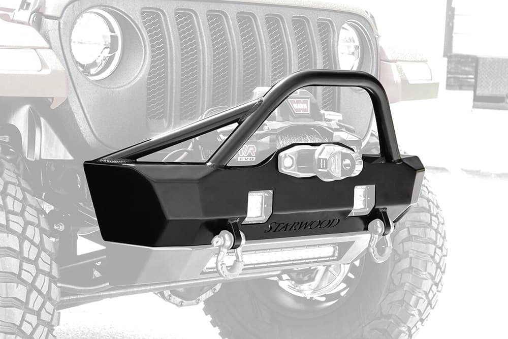 Starwood Adventure Series Front Bumper