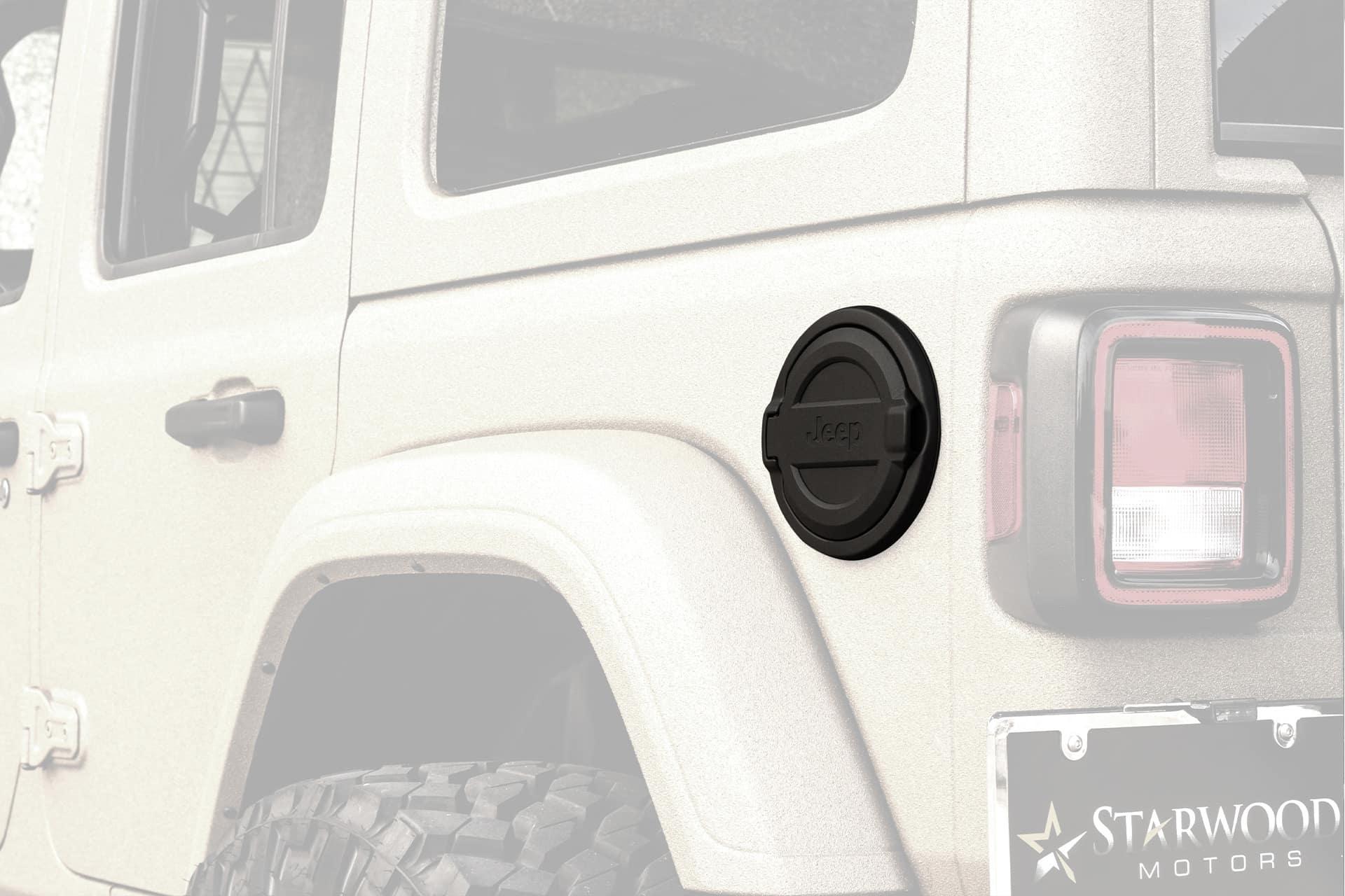 Custom Fuel Door