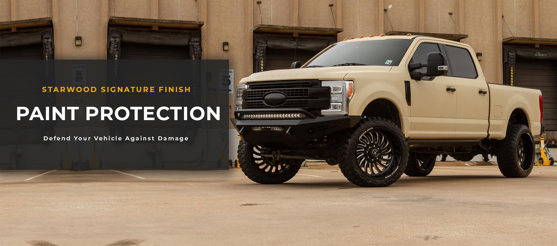 Truck paint protection