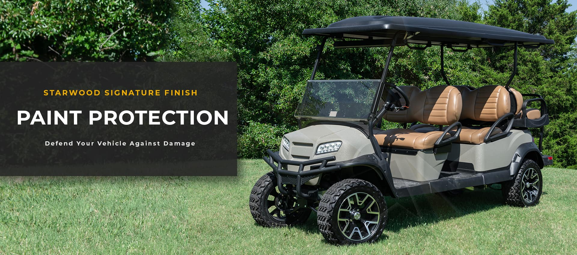 golf cart paint protection
