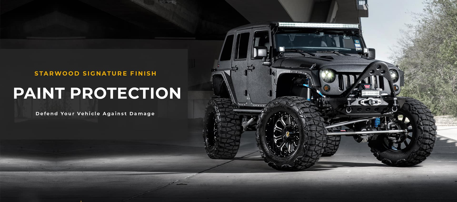 jeep dark paint protection