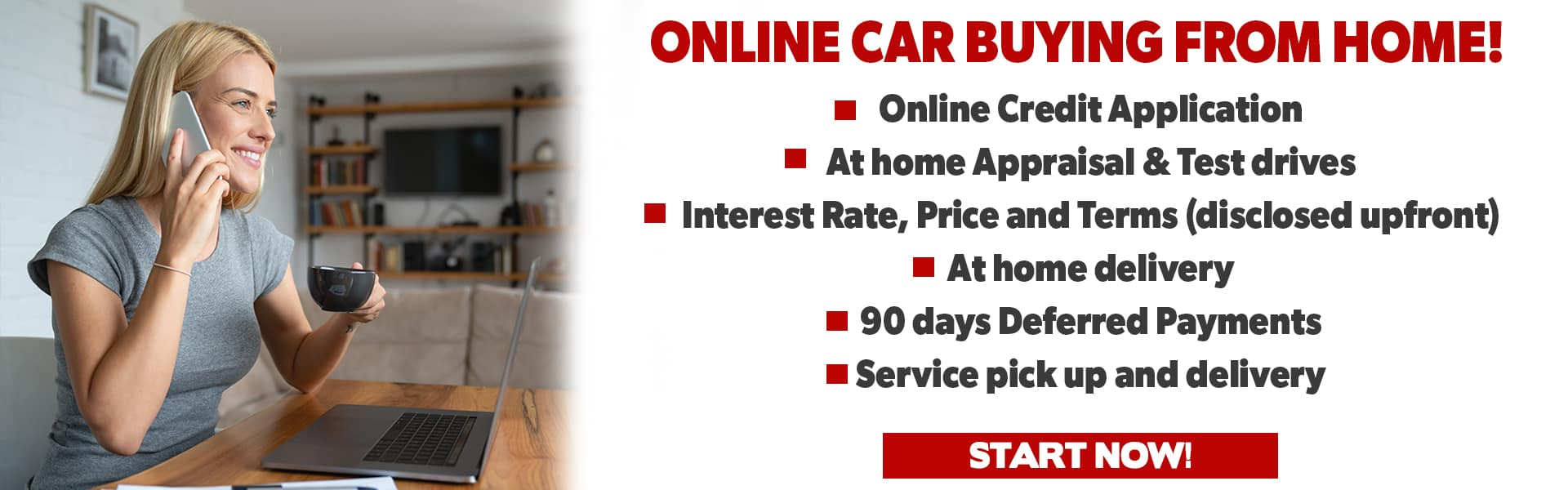Online Car Buying at Home from Steven Toyota